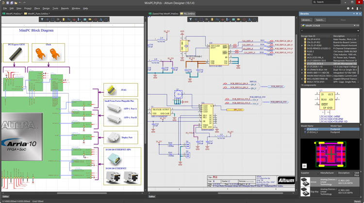 Altium Designer PCB Software