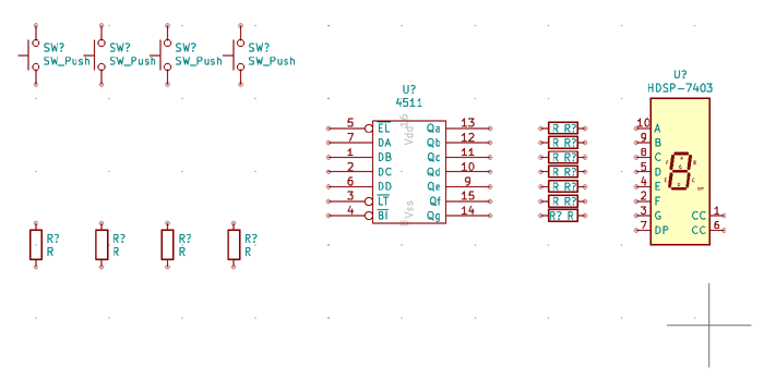 Arrange component on the canvass in KiCad