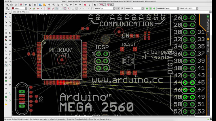 Eagle PCB Software