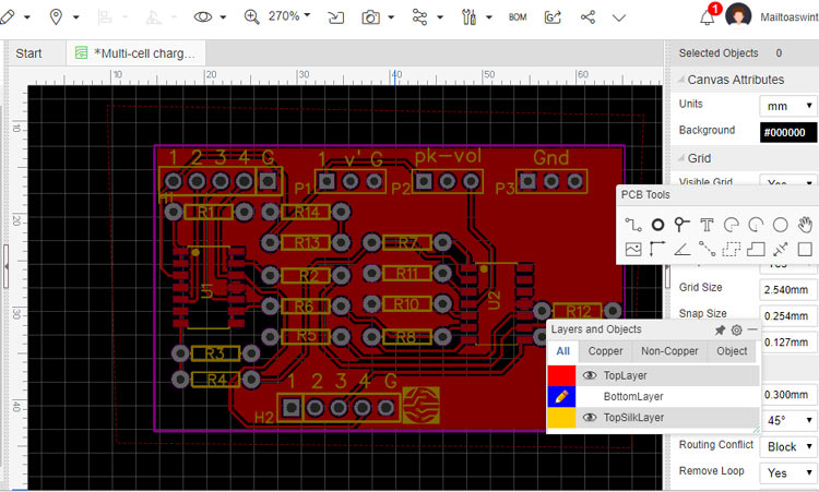 EasyEDA PCB Software