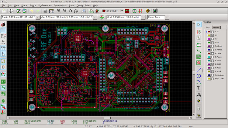 KiCad PCB Software
