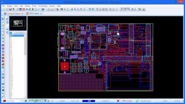 Proteus PCB Software