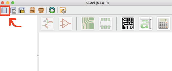 Setting up a New Project on KiCad