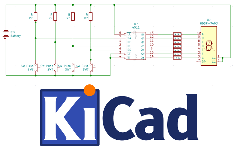 KiCad Tutorial 2/5 – Drawing Schematics on KiCad