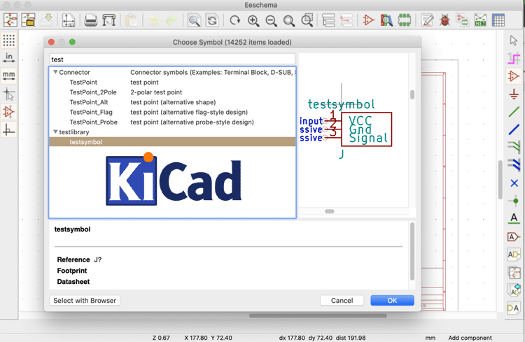 KiCad Tutorial 3/5 – Creating Custom Parts and Schematics